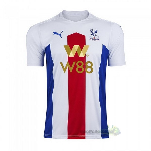 Away Maglia Crystal Palace 2020 2021 Bianco Tutto Maglie Calcio